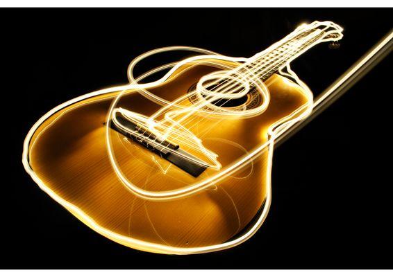 Guitar Lightpainting