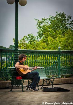 Guitariste de la rue