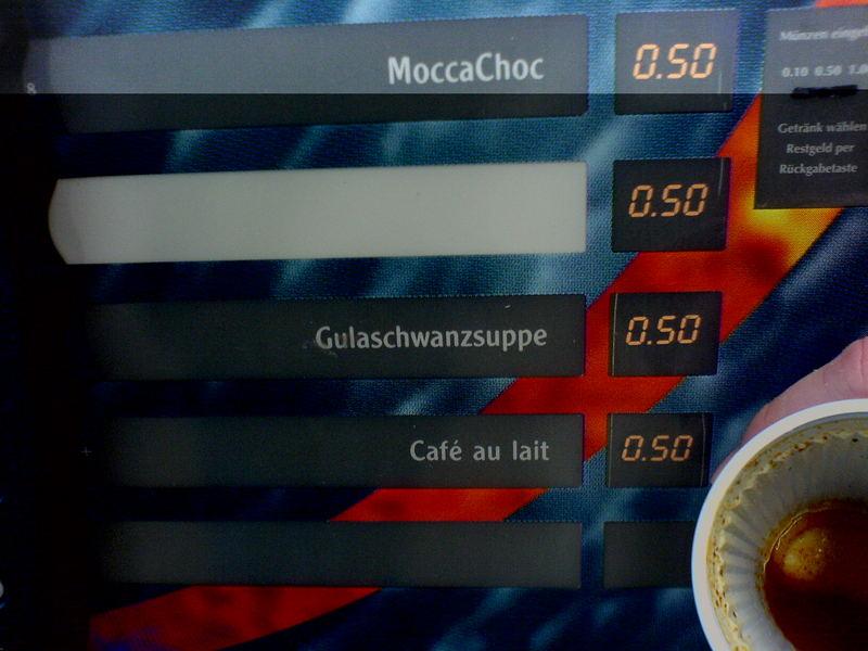 Gulaschwanzsuppe... hmm lecker