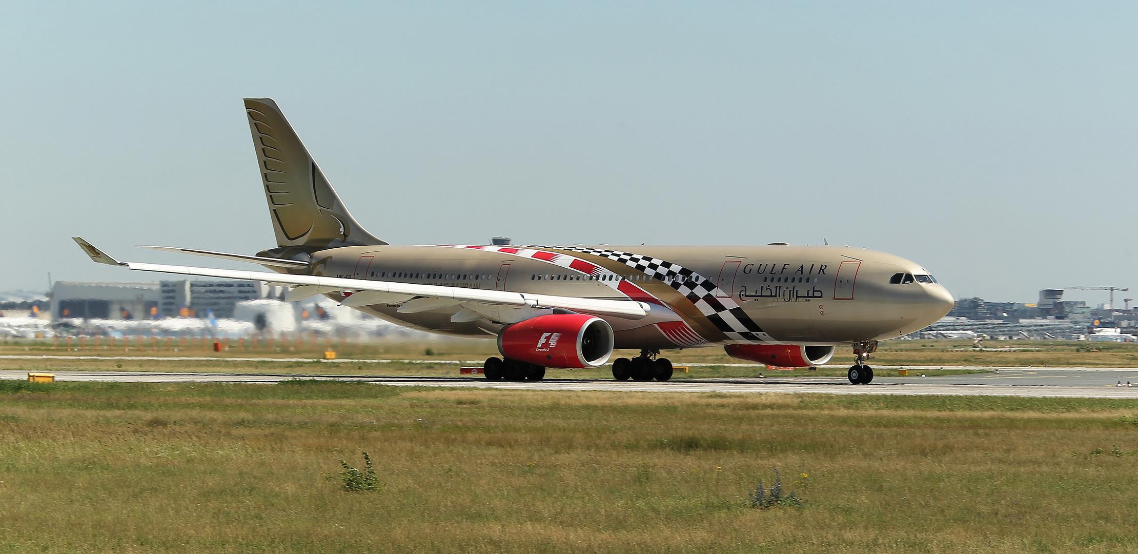 """Gulf Air """"F1"""""""