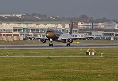 Gulf Air Testflug