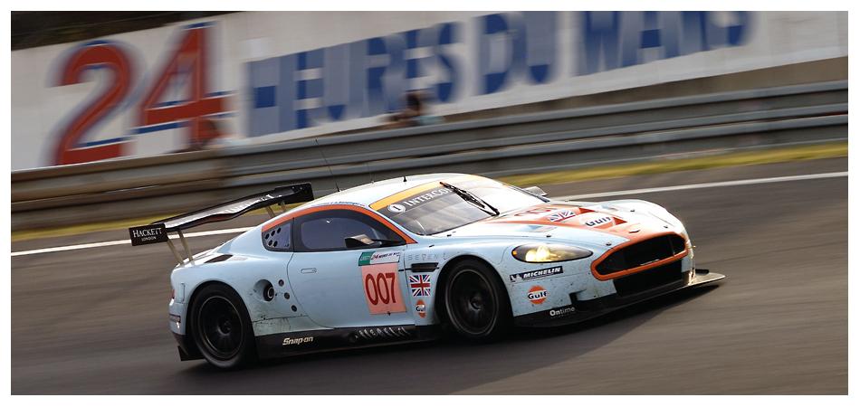 Gulf Racing Aston Martin, Le Mans 2008