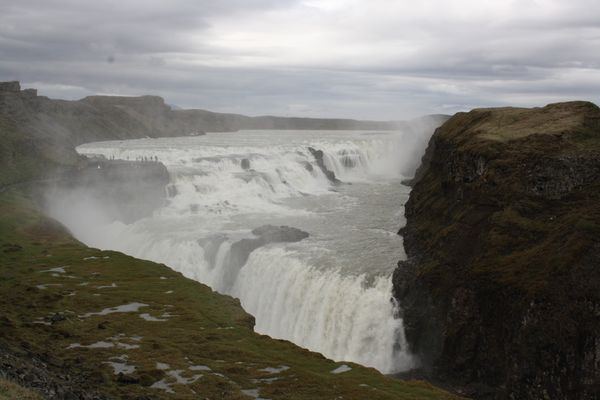 Gulfoss in Iceland Watefalls