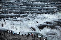 Gulfoss-Wasserfall auf Island