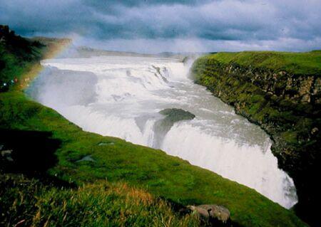 Gullfoss - der vielleicht schönste Wasserfall Islands