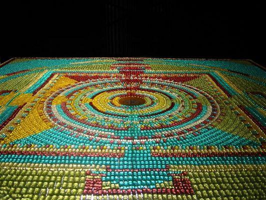 Gummibären-Mandala die Zweite