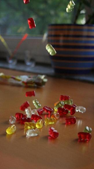 Gummibären+Cam+Langeweile