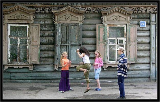 Gummitwist in Sibirien....