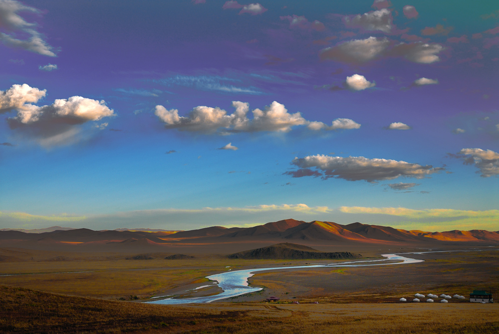 Gun-Galuut Nature Reserve near Ulaan Baatar