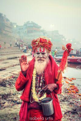 Guru - Varanase - Gange - India