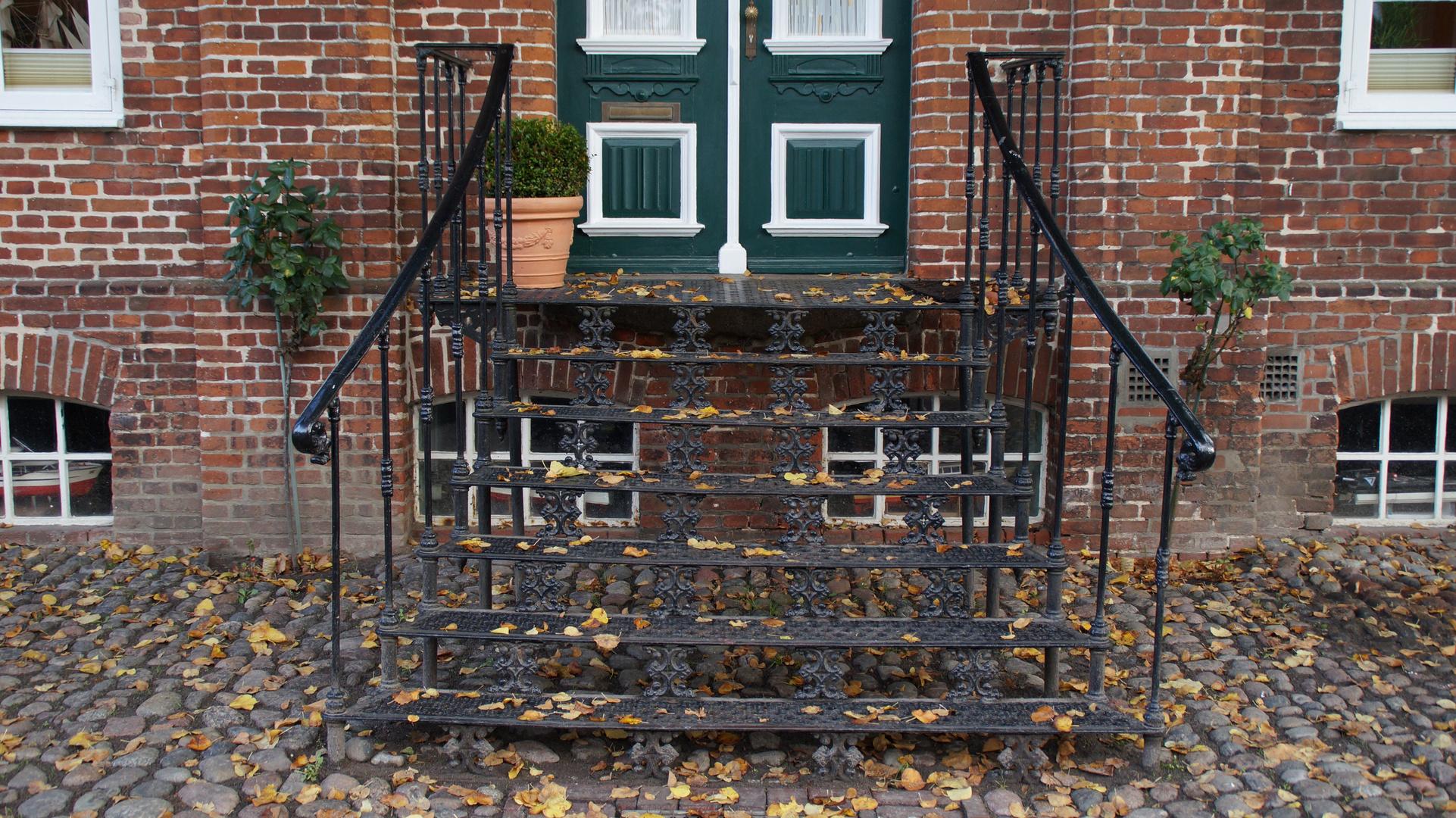 Gusseiserne Treppe