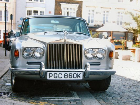 gut erhaltener Rolls-Royce