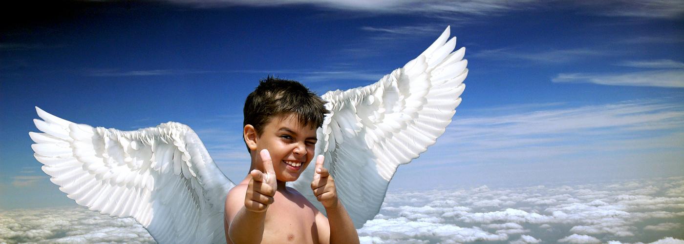 gut gelaunter Engel 1