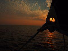 Gute Nacht auf See