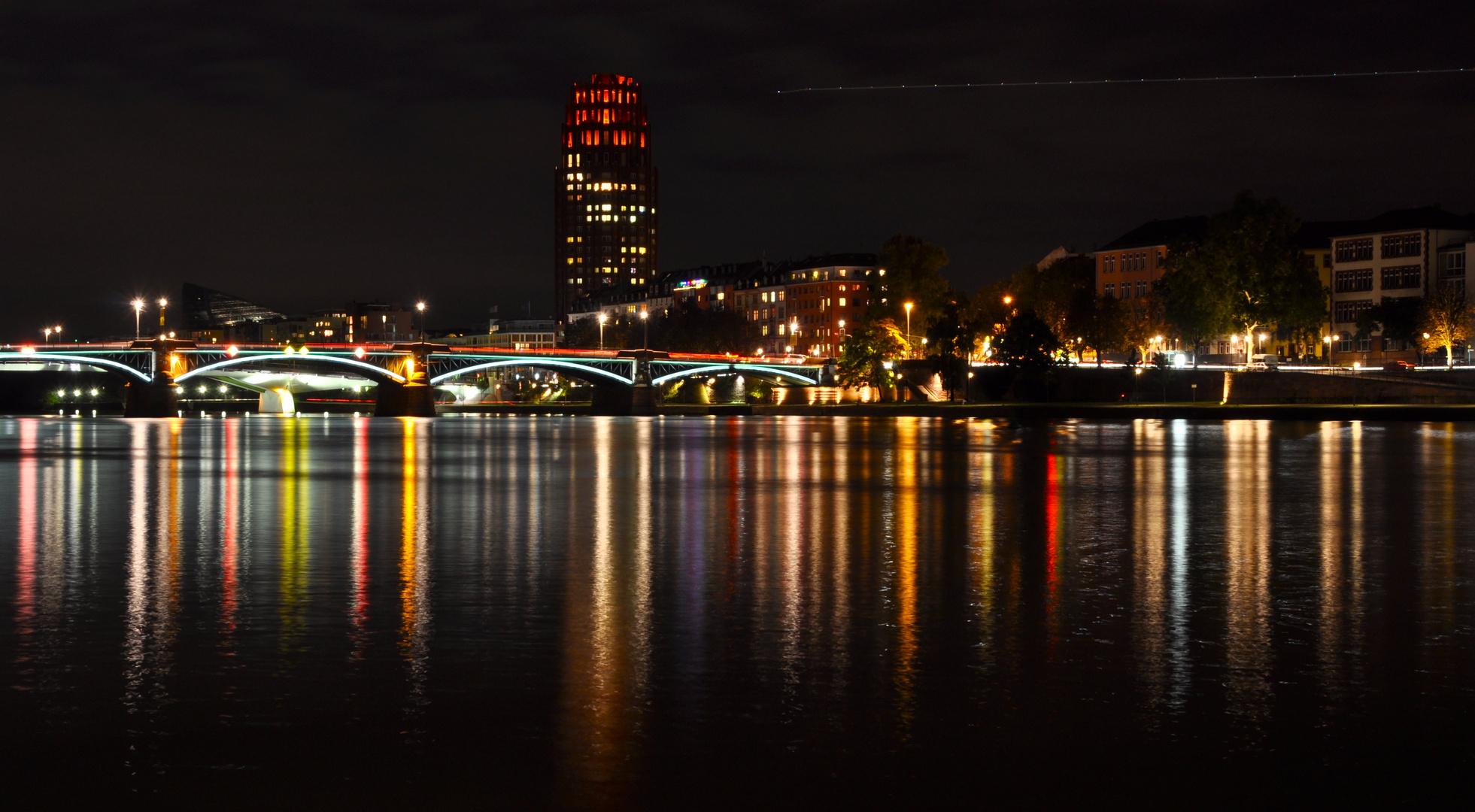 Gute Nacht Grüße aus Frankfurt
