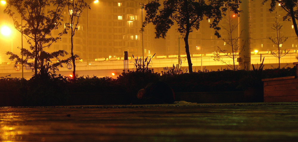 Gute Nacht in Peking