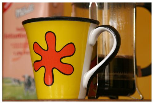 Guten Morgen! Einen großen Kaffee bitte...