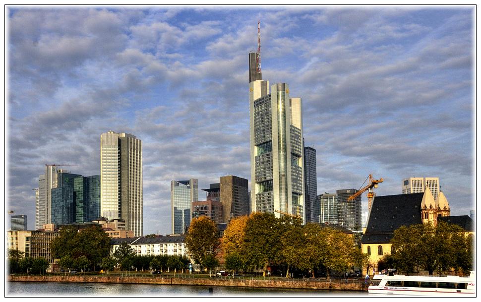 Morgen Frankfurt guten morgen frankfurt foto bild hessen deutschland