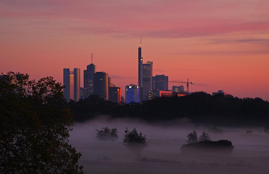 guten morgen frankfurt foto bild deutschland europe hessen