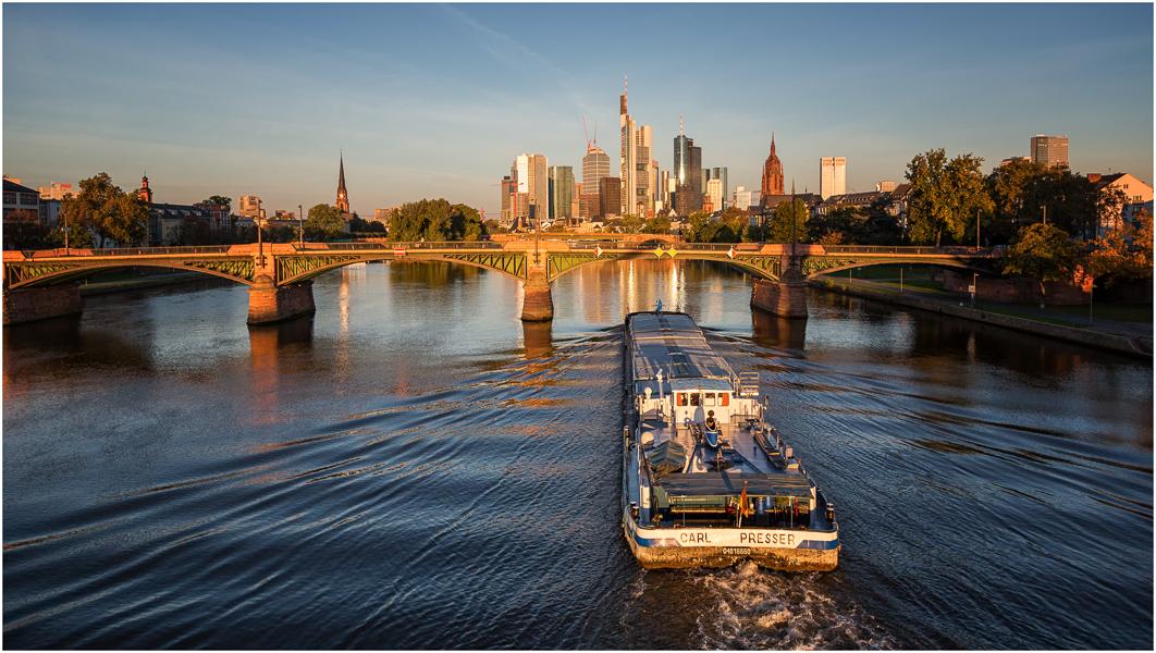 Morgen Frankfurt guten morgen frankfurt foto bild deutschland europe hessen