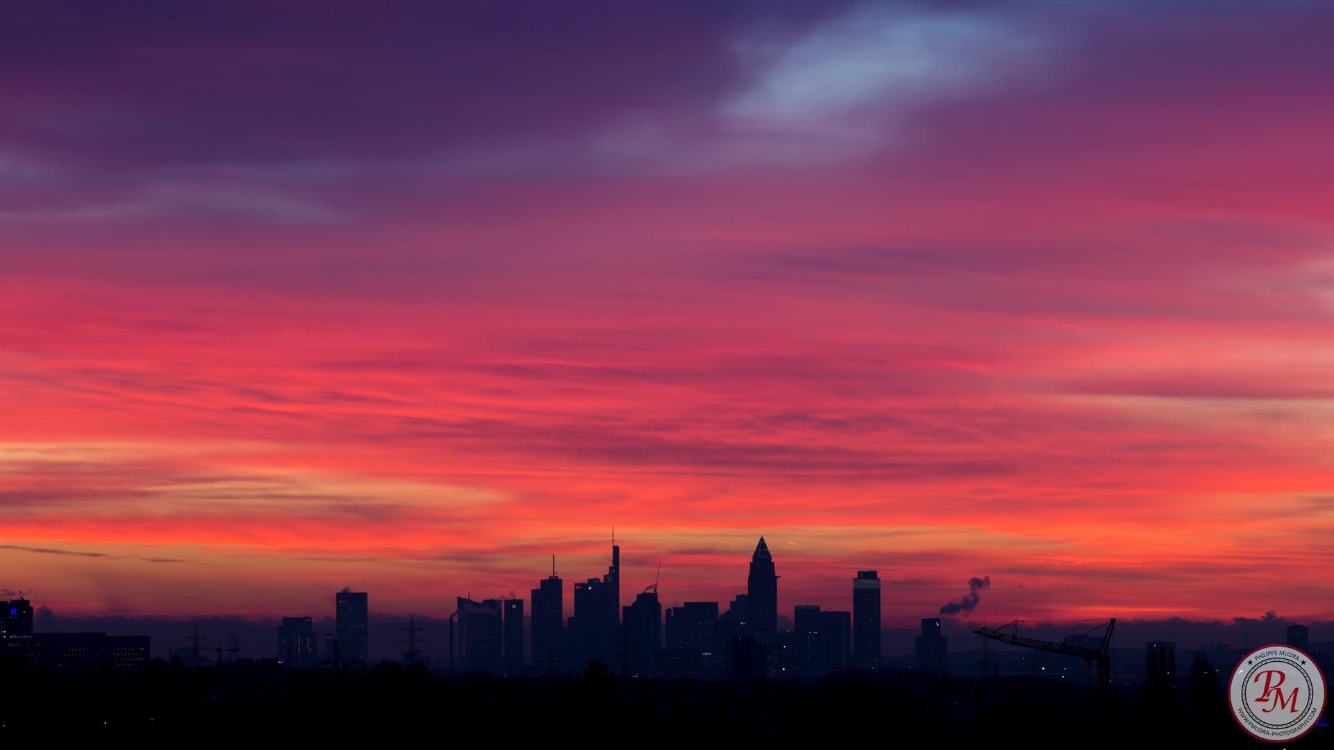 Morgen Frankfurt guten morgen frankfurt tgim foto bild architektur reisen