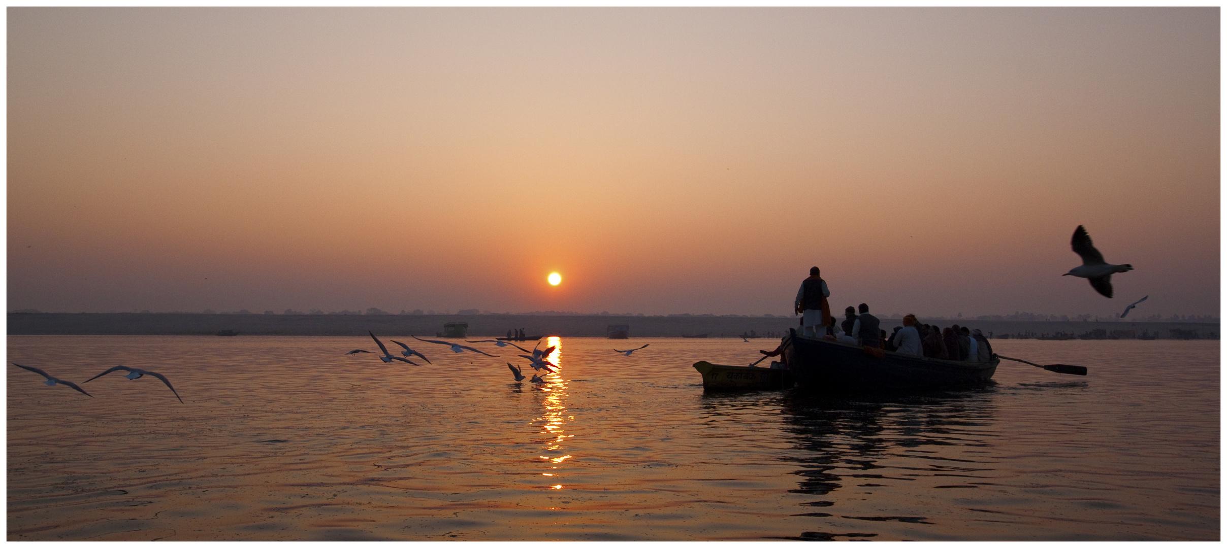 Guten Morgen Holy River Ganga!