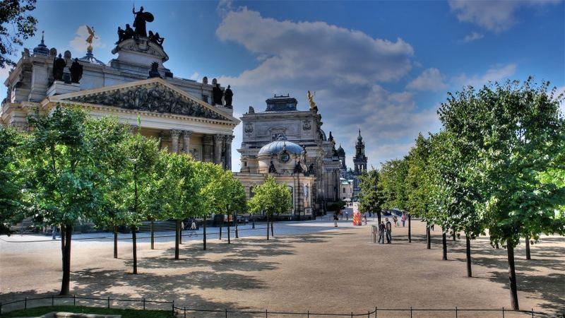 Guten Morgen Schönes Dresden