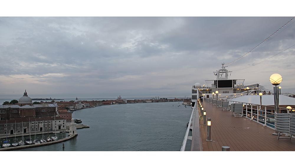 Guten Morgen, Venedig.