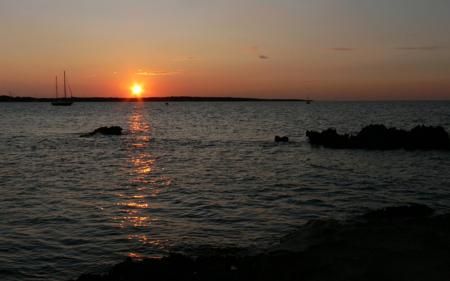 guten Nacht Formentera