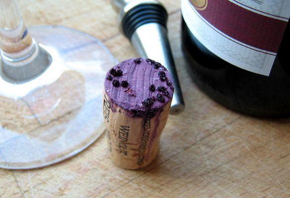 Guter Wein; schlechter Wein; Weinstein