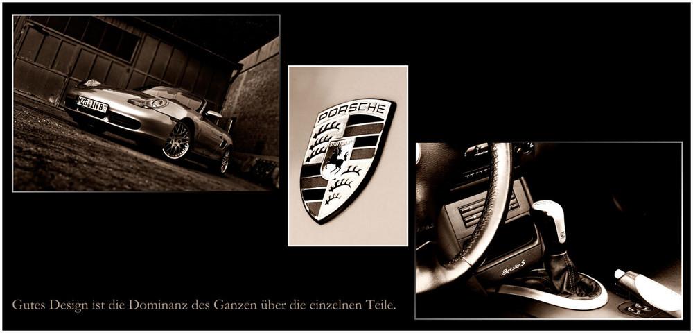 Gutes Design......Porsche Boxster S Collage