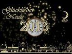 Gutes neue Jahr. 2013
