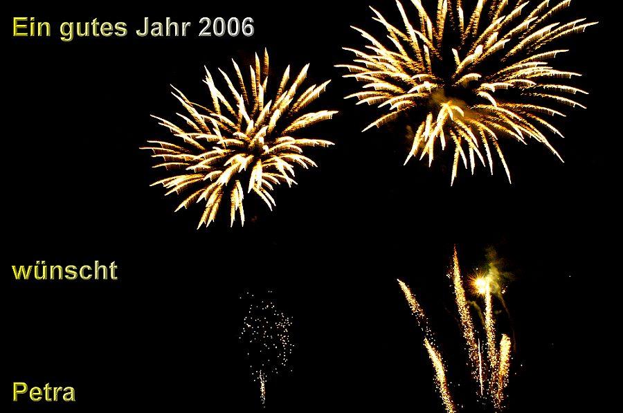GUTES NEUES JAHR 2006