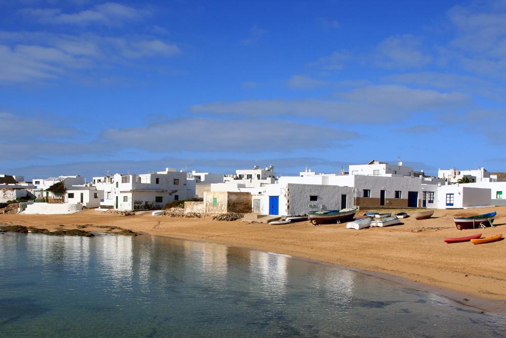 Gutes Wetter auf der Isla Graciosa/Lanzarote