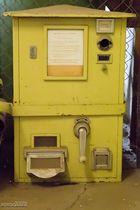 Gutscheinautomat für eine Postkarte