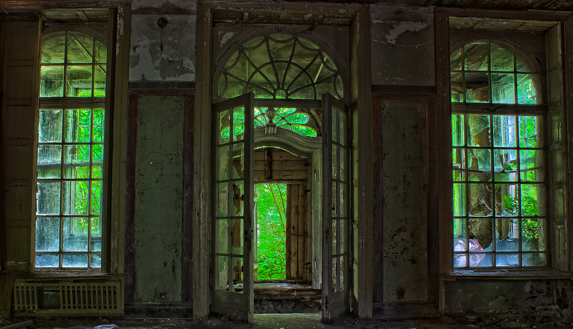Gutshaus-Entrée