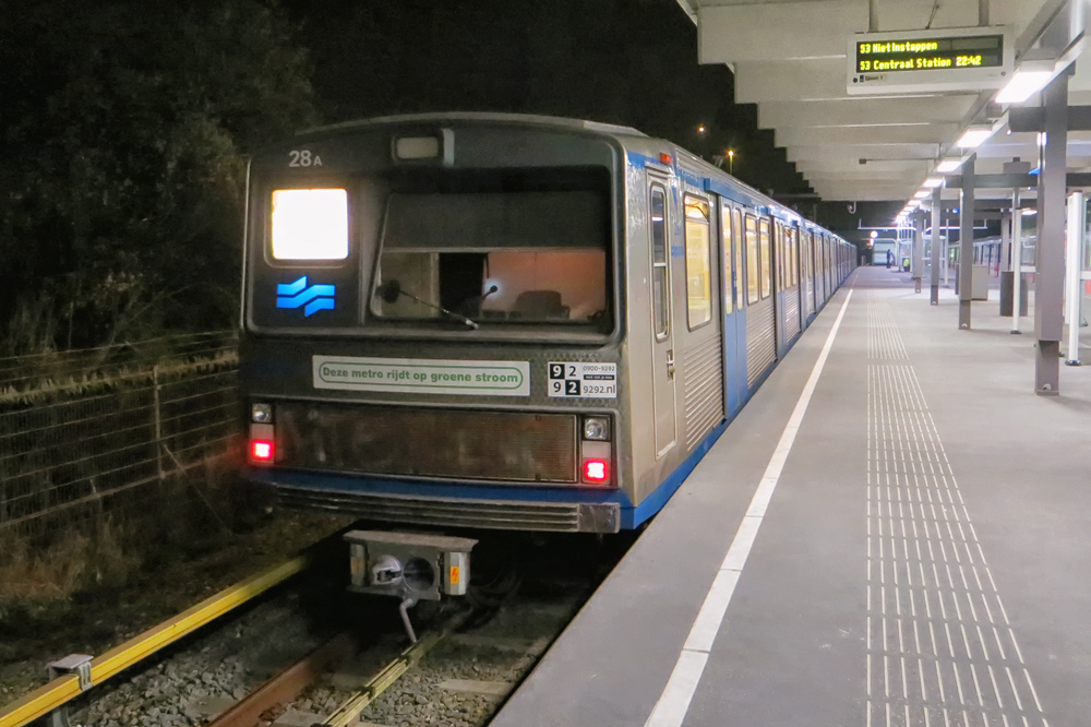 GVB Amsterdam Metro 28