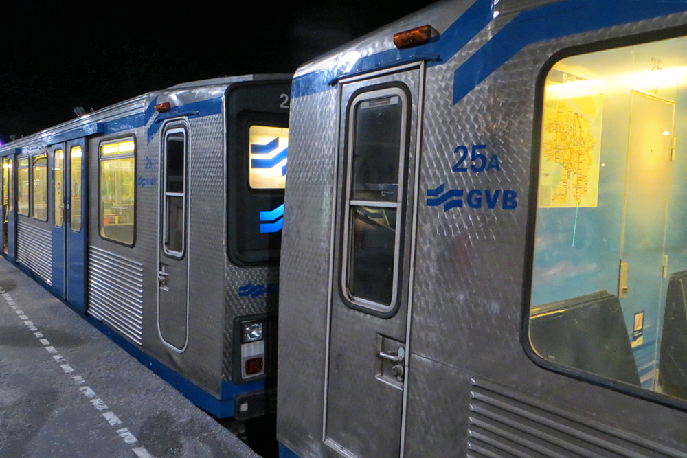 GVB Amsterdam Metro  Wagen 25