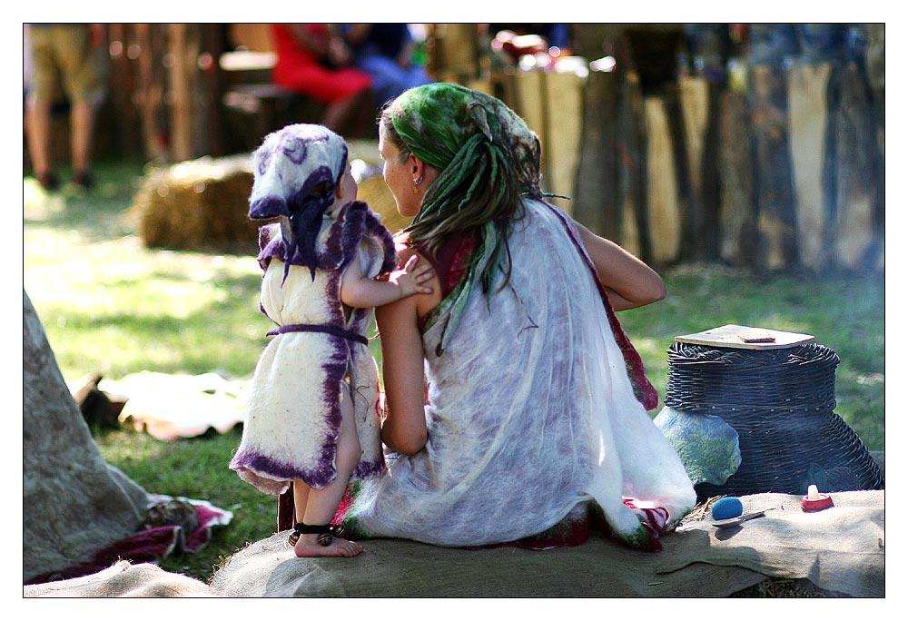 Gwendolin die Waldfee und das kleine Feenkind