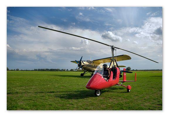 Gyrocopter und Antonov
