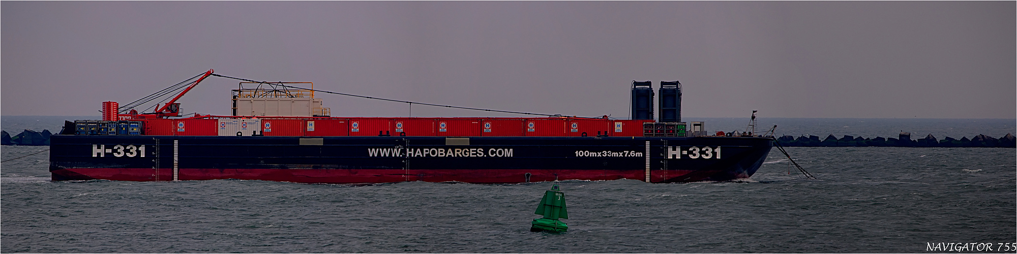 H-331 / Barge / Rotterdam / Bitte scrollen!