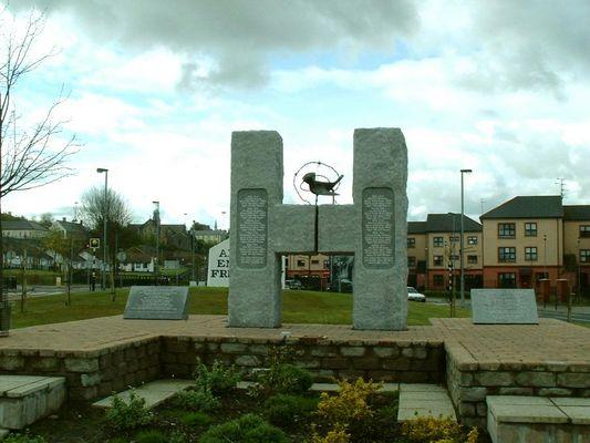 H-Block Memorial - Free Derry Corner