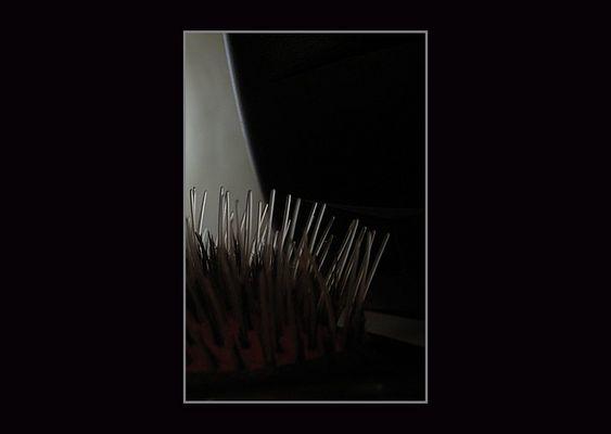 Haarbürste (nacht)