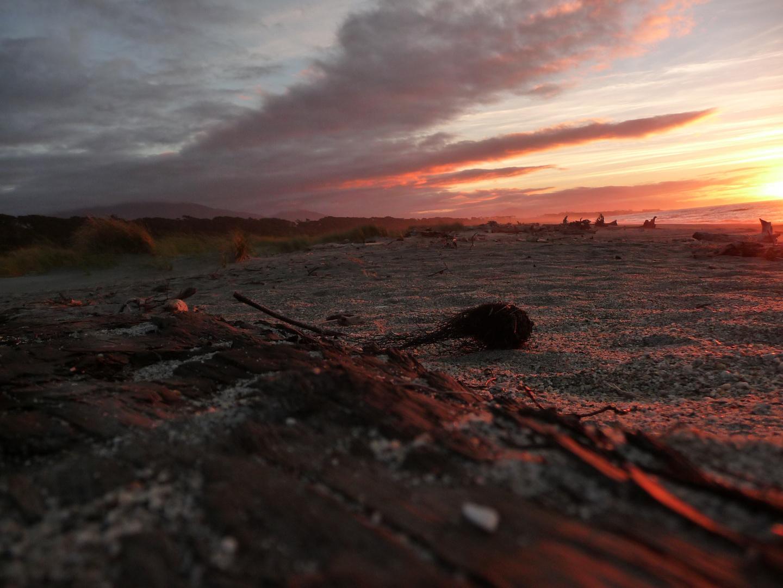 Haast Strand Sonnenuntergang