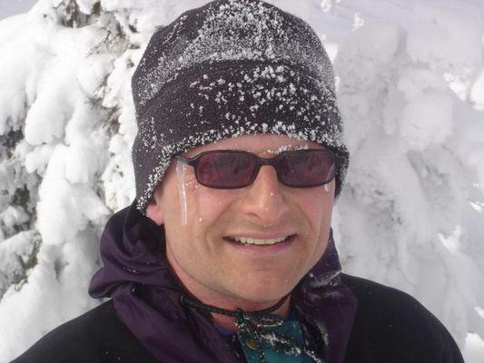 hab bei dieser Skitour Rotz und Wasser geschwitzt ...