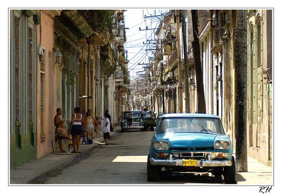 Habana urban streets