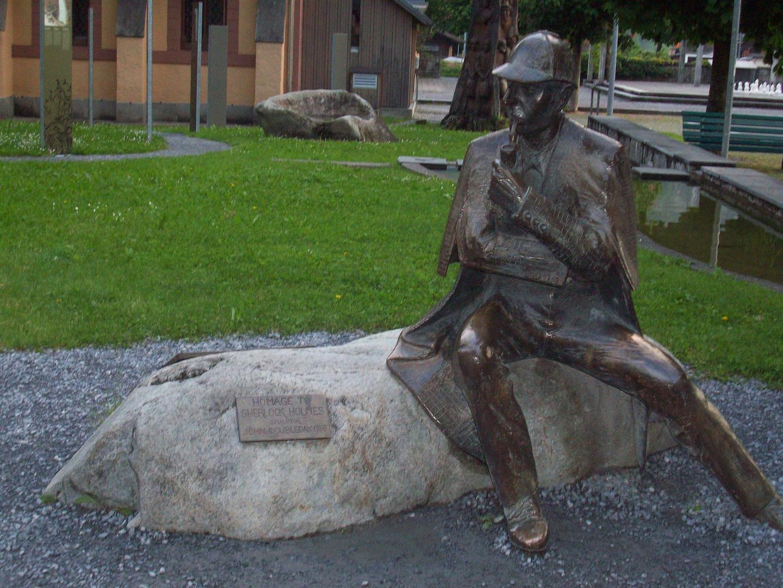 Habe Holmes in Meiningen in der Schweiz gesehen