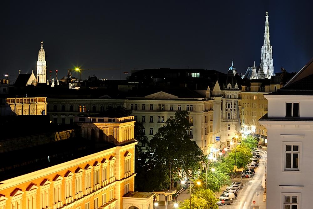Haben Sie Wien schon bei Nacht gesehen ......