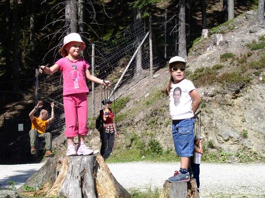Haben uns unsere Kinder voll im Griff....wie Marionetten....