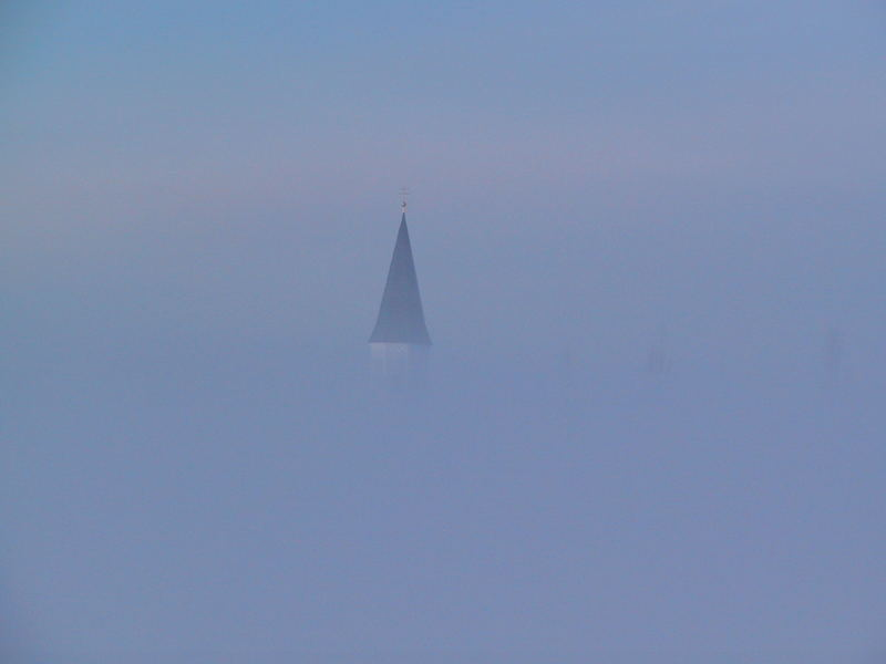 Haberskirchen im Nebel